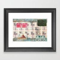 Landscape Of The America… Framed Art Print