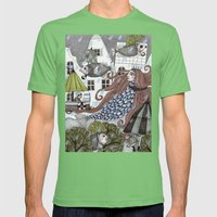 Rainy Days Mens Fitted Tee Grass SMALL