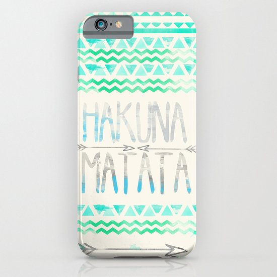 Hakuna Matata iPhone & iPod Case