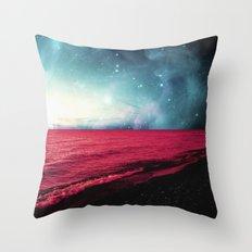Neptune's Shores Throw Pillow