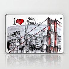 I love San Francisco  Laptop & iPad Skin