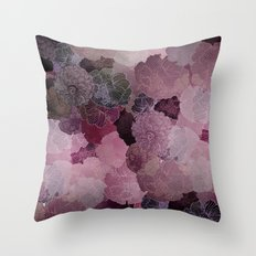 FLORAL SAKURA Throw Pillow