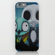 The Owl Jack And Sally iPhone 6 Slim Case