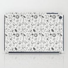 Doodle Birds Seamless Patterns iPad Case