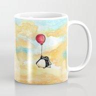Penguin And A Red Balloo… Mug