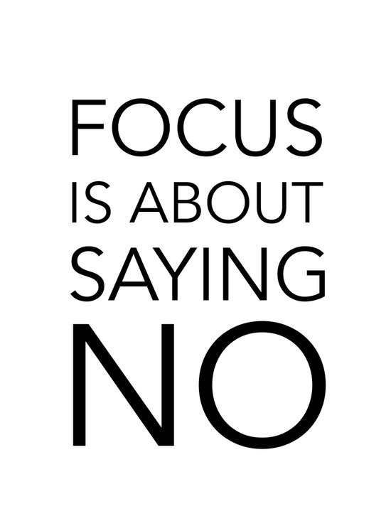 Focus is about.... Art Print