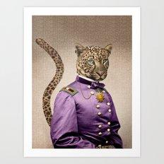 Grand Viceroy Leopold Leopard Art Print