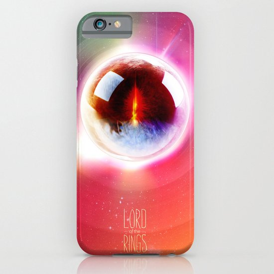 Lord of the Rings. The Eye of Sauron. What Frodo Saw. iPhone & iPod Case