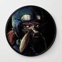 Nausicaa Of The Valley O… Wall Clock