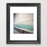 Rollei Bottle Framed Art Print