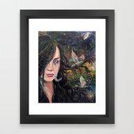 Aerie Framed Art Print