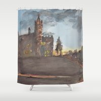 Crouse College, Syracuse… Shower Curtain