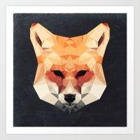 Island Fox Art Print