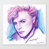 Darling David Canvas Print