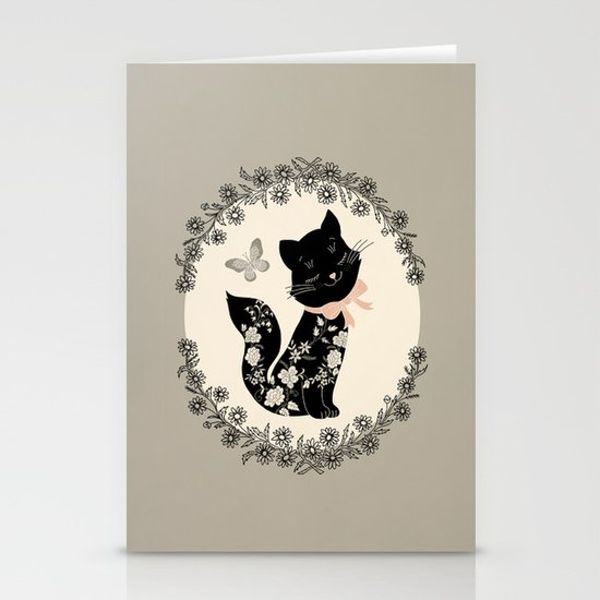 SophistiCat Stationery Card