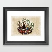 Stop Sex Trafficking Aro… Framed Art Print