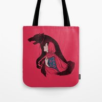 Taming of the wolf Tote Bag