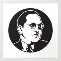 Dr. Babasaheb Ambedkar Art Print