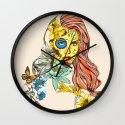 Shades Of Cool Wall Clock