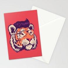 tiger cartoon Stationery Cards