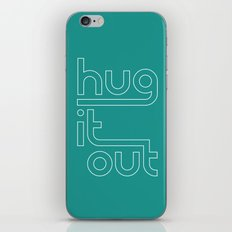 Hut It Out • Teal  iPhone & iPod Skin