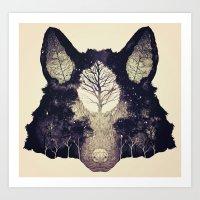 Forest Whisper (alt.) Art Print