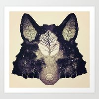 Forest Whisper (alt.) Art Print
