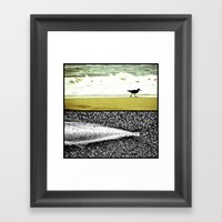 PiPERtail Collage  Framed Art Print
