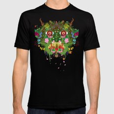 Cabana Fever SMALL Mens Fitted Tee Black