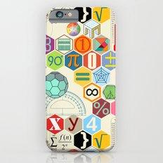 Math in color (little) iPhone 6 Slim Case