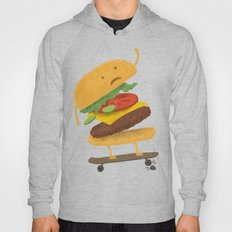 Burger Wipe-out Hoody