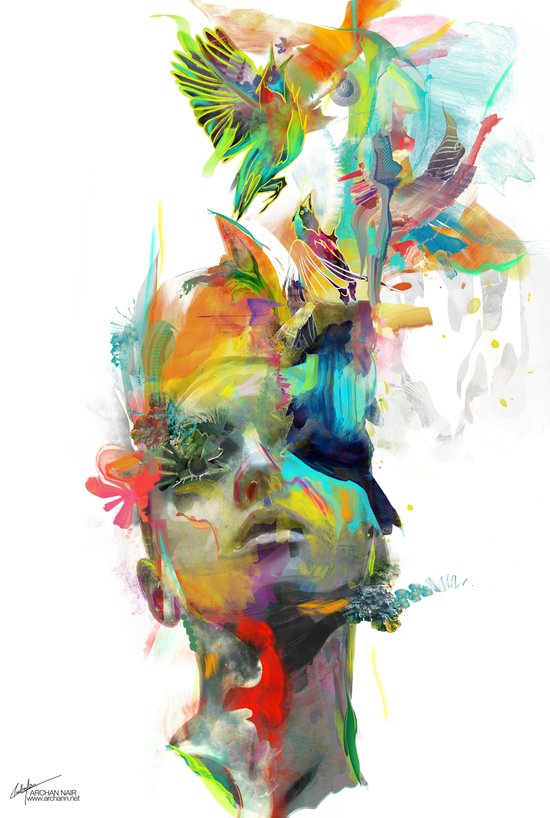 Dream Theory Art Print