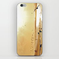 Beach ambience iPhone & iPod Skin