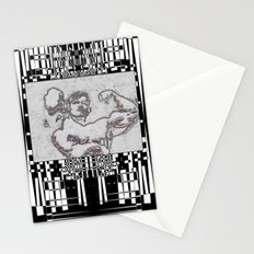 Muscle Stationery Cards