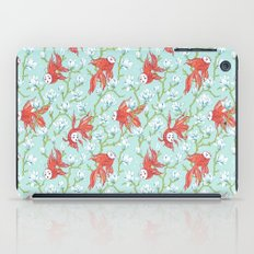 Goldfish, Mask and Magnolia Pattern iPad Case