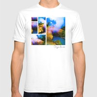 Dragon's Breath Mens Fitted Tee White SMALL