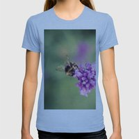 Bee Womens Fitted Tee Athletic Blue SMALL