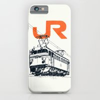 iPhone & iPod Case featuring On Paper: JR EF65-100 by Anton Marrast