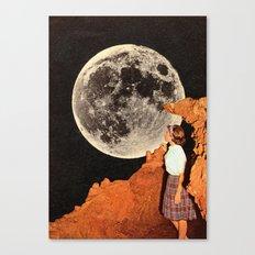 Hey Moon  Canvas Print