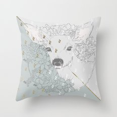 I Deerly Love You Throw Pillow