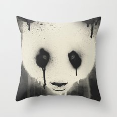 PANDA STARE Throw Pillow