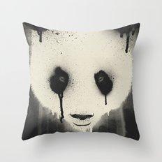 PANDA STARE Throw Pillow