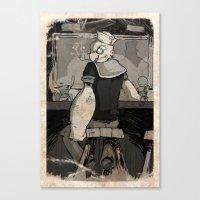 Bluto's Return Canvas Print