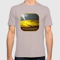 The Road to Damascus Mens Fitted Tee Cinder SMALL
