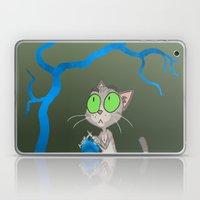 Knitting Cat Laptop & iPad Skin