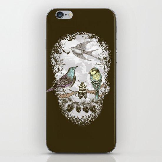 Nature's Skull II iPhone & iPod Skin