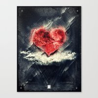 Tan Vacio Canvas Print