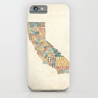California by County iPhone 6 Slim Case