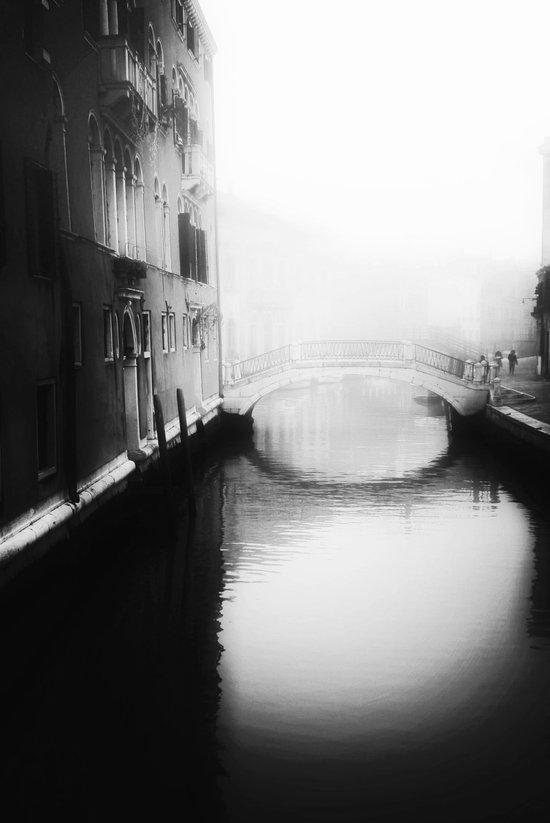 Under the bridge- Art Print