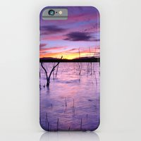 iPhone & iPod Case featuring Purple waters by Guido Montañés